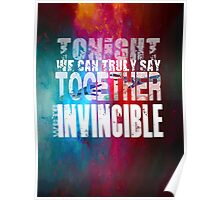 Muse Invincible Poster