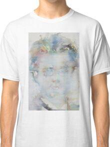 GUSTAV MAHLER - watercolor portrait Classic T-Shirt