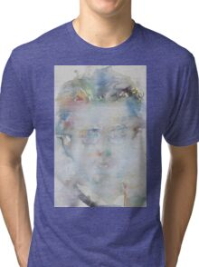 GUSTAV MAHLER - watercolor portrait Tri-blend T-Shirt