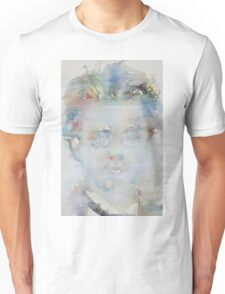 GUSTAV MAHLER - watercolor portrait Unisex T-Shirt