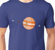 Cartoon Jupiter Planet Unisex T-Shirt