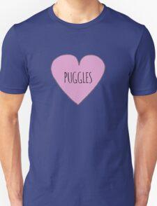 Puggle love Unisex T-Shirt