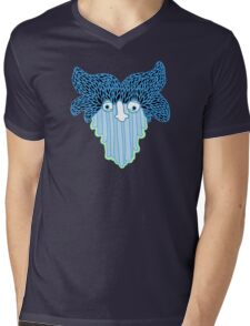 Waterfall Ghost Mens V-Neck T-Shirt