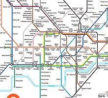 London Underground by KikkaT