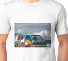 Colourful Transport Hippie Bus Unisex T-Shirt