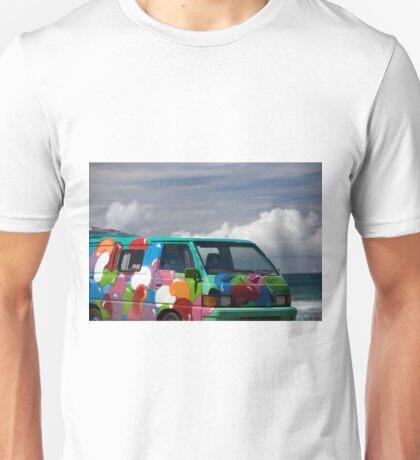 Colourful Transport Hippie Bus Unisex T-Shirt