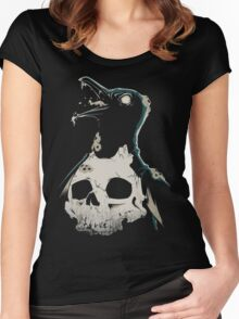 Penguin Madness Women's Fitted Scoop T-Shirt