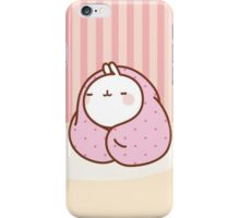 kawaii molang snug iPhone Case/Skin