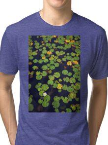Pond of lilies Tri-blend T-Shirt