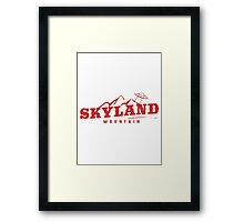 The X Files: Skyland Mountain  Framed Print