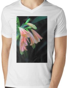 Pink Beauty Mens V-Neck T-Shirt