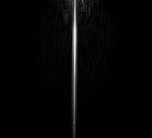 Lantern in rain at night by ONiONAstudio