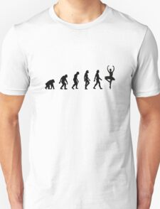 The Evolution of Ballerinas T-Shirt