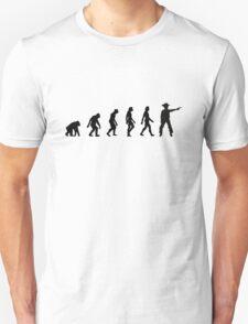The Evolution of Cowboys T-Shirt