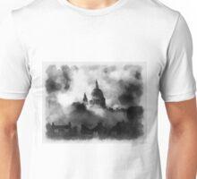 St Pauls During The Blitz by John Springfield Unisex T-Shirt