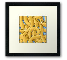 It's Pattern Time Jake Framed Print