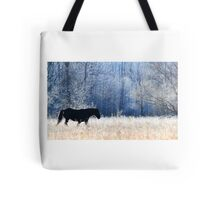 Horse and Owl Tote Bag
