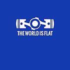 The World is Flat by jakerandell