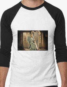 Ƹ̴Ӂ̴Ʒ WINGS OF AN ANGEL PLAYING HARP MUSIC- VARIOUS APPAREL-- PICTURE,PILLOW, AND OR TOTE BAG Ƹ̴Ӂ̴Ʒ T-Shirt