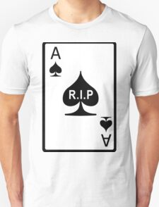 Rest in Peace Ace of Spades Unisex T-Shirt