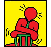 HARING - i am Boss Photographic Print