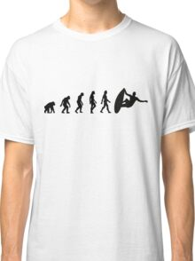 The Evolution of Surfing Classic T-Shirt