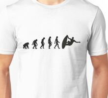 The Evolution of Surfing Unisex T-Shirt