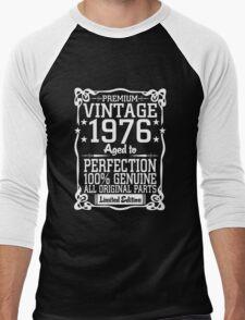 Premium Vintage 1976 Aged To Perfection 100% Genuine All Original Parts T-Shirt