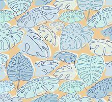 Palm leaves by ONiONAstudio