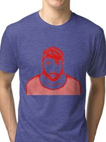 Self Potrait Tri-blend T-Shirt