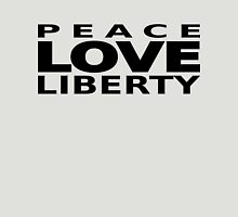 Peace Love Liberty Unisex T-Shirt