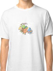 Crayon Hoenn Starters Classic T-Shirt