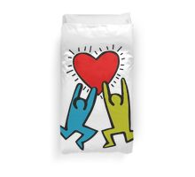 HARING - True Love Duvet Cover