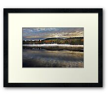 Wilson Lake, Quebec Framed Print