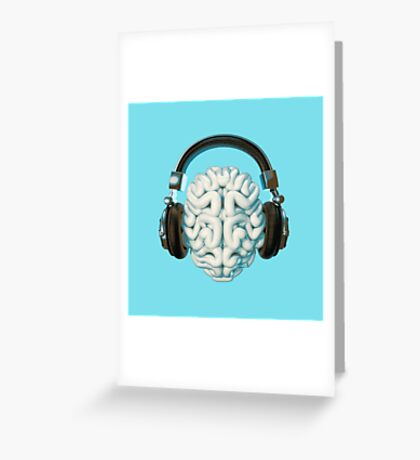 Mind Music Connection Greeting Card