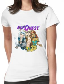 Modern trio Womens Fitted T-Shirt