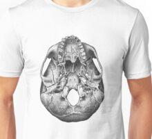 Human skull, ventral view Unisex T-Shirt