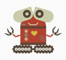 Cute Robot One Piece - Long Sleeve