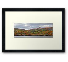 Fall in Mont Ste-Marie Framed Print
