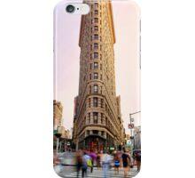 Flatiron building facade iPhone Case/Skin