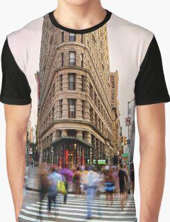 Flatiron building facade Graphic T-Shirt
