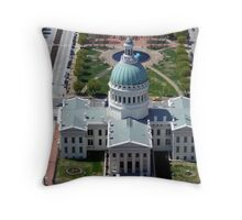 St Louis Capital Building Throw Pillow
