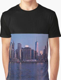 Manhattan panorama at sunrise Graphic T-Shirt