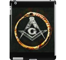 Freemason by Pierre Blanchard iPad Case/Skin