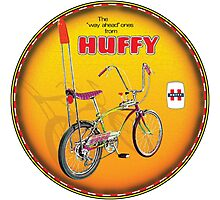 Huffy Bicycles Photographic Print
