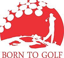 Born to Golf 1 Photographic Print