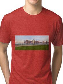 Manhattan sunset  Tri-blend T-Shirt