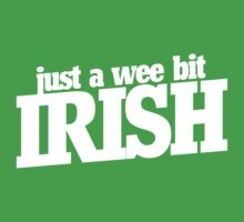 A wee bit irish Kids Tee
