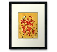 Autumn's gift Framed Print