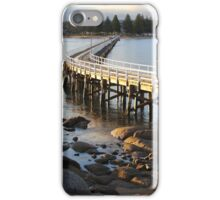 Granite Island Bridge Pt.6 iPhone Case/Skin